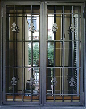 Inferriate - Cancelli per porte finestre ...
